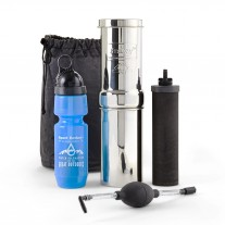 Go Berkey Waterfilter Kit + Berkey Primer