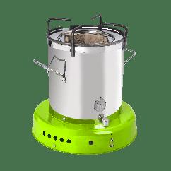 ACE 1 Cookstove (houtstove, zonnepaneel, accu, ledlamp)